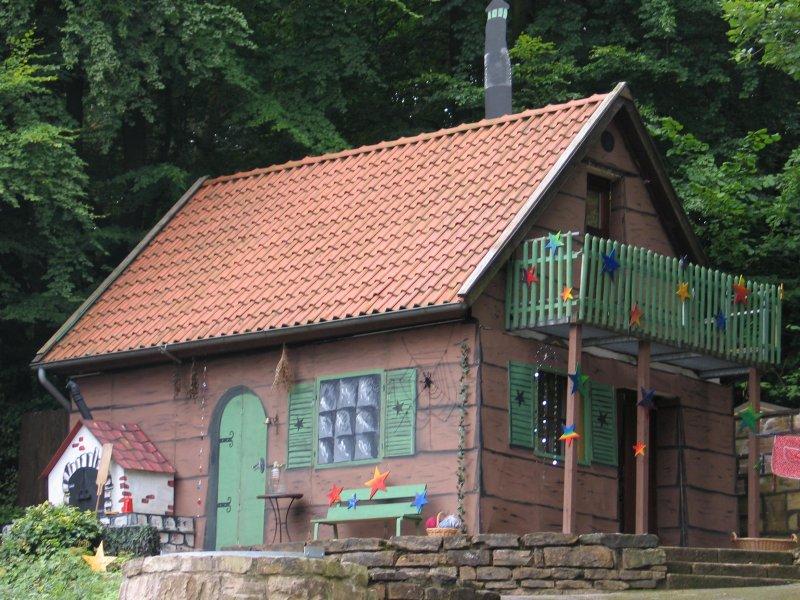 das Hexenhaus der kleinen Hexe